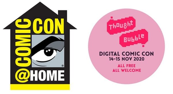 Thought Bubble and San Diego Comic-Con, Together For Comic-Con@Home.
