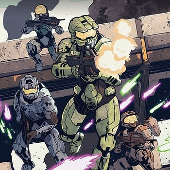 Halo: Collateral Damage #1 cover by Zak Hartong