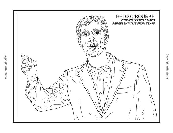 The 2020 Democratic Presidential Candidates Get a Coloring and Activity Book