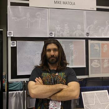 Wonder Con 17 Artist Spotlight: Meet Mike Matola the Artist who Makes You Read
