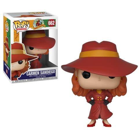 Funko Carmen Sandiego Pop