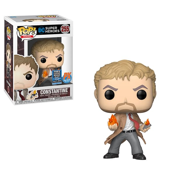 Comic Shops Get an Exclusive John Constantine Funko POP for Free Comic Book Day 2019 (UPDATE)