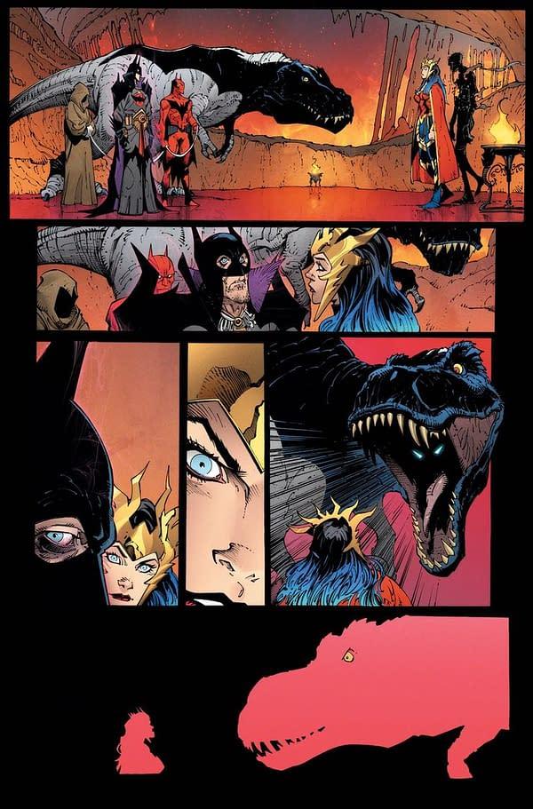 Doctor Manhattan in Dark Nights: Death Metal, and More.