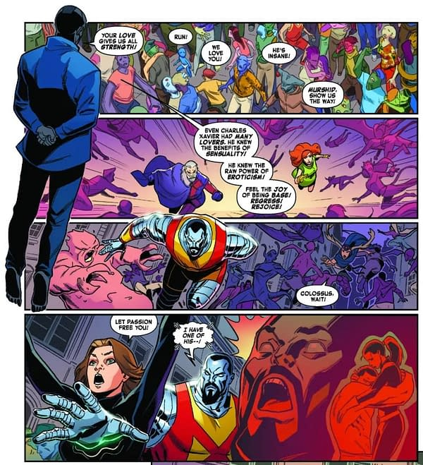 Charles Xavier and the Power of Raw Eroticism in Next Week's Marvelous X-Men #4