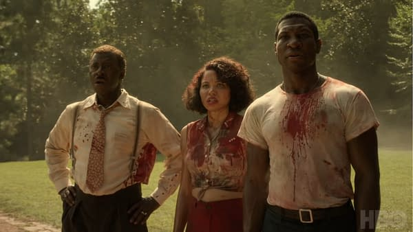 Atticus, Leti, and Uncle George are about to face the unknown and the all-too-real in Lovecraft Country, courtesy of HBO.