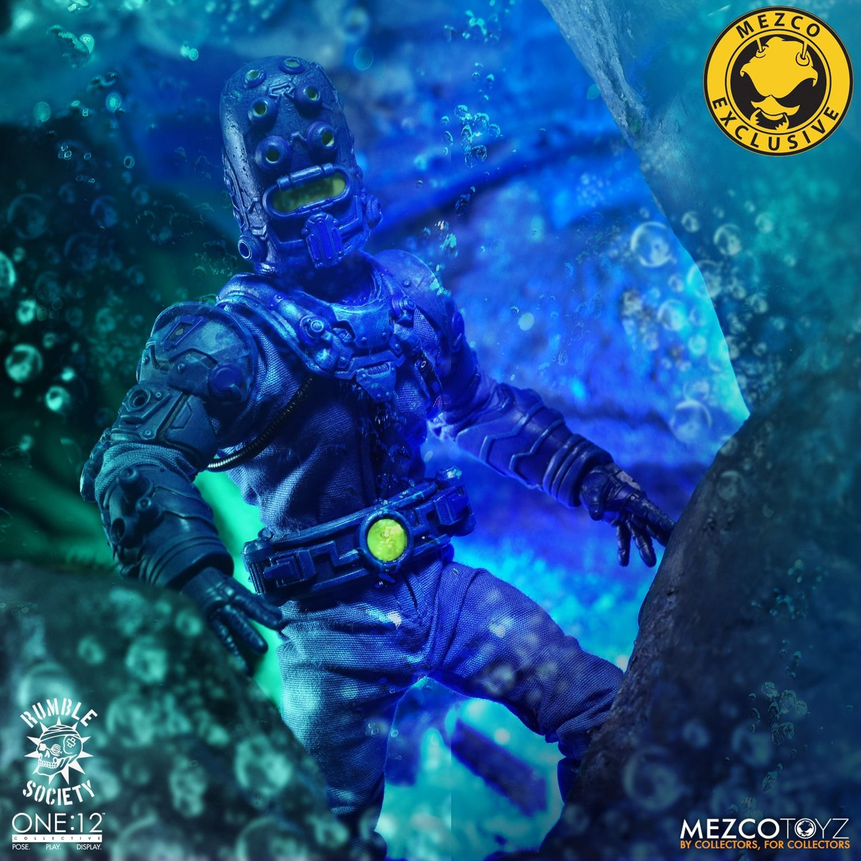 Baron Bends and the Aquaticons de Mezco Toyz