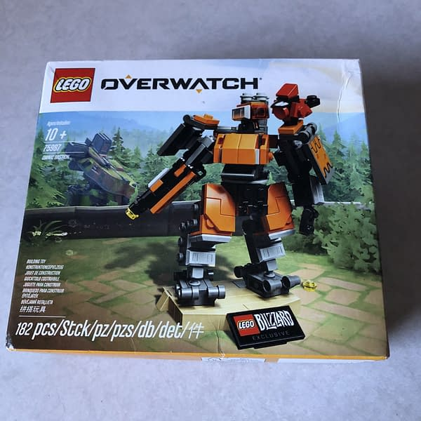 Beep Boop By Numbers: We Review the LEGO Overwatch Bastion Figure