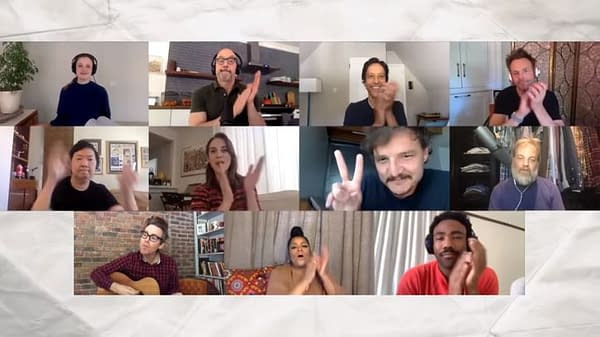 Here's a sneak preview of the Community table read.