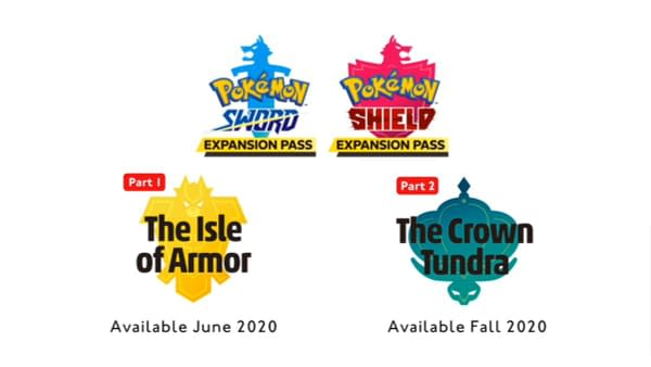 """Pokémon Sword and Shield"" The Isle of Armor and The Crown Tundra Announced"