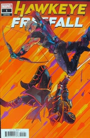 Hawkeye Freefall#1 Sells Out! Plus Other Odd Variants   - The Back Order List 1/1/2020