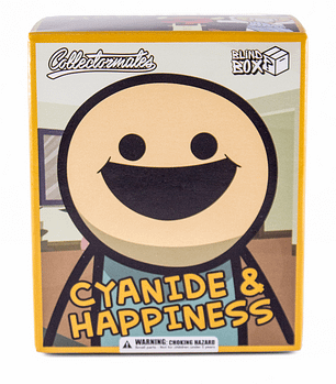 Front Box SDCC Cyanide and Happiness Figures