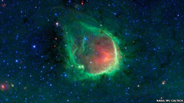 Astronomers Find Green Lantern Nebula. Just In Time For The Movie
