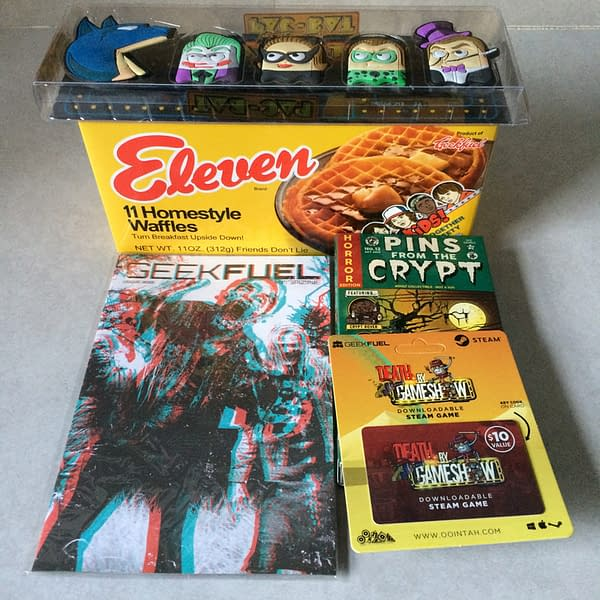 What's In The Box?!: Geek Fuel – October 2017
