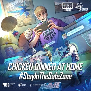 PUBG Mobile Chicken Dinner At Home Campaign Banner Home