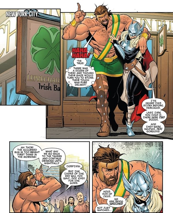 Hercules – Back On The Wagon in Avengers #690?