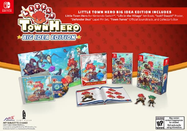 """Little Town Hero"" Big Idea Edition Is Getting A Physical Release"