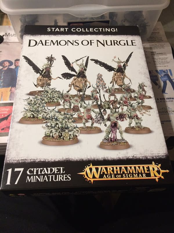 "Review - Games Workshop's ""Start Collecting! Daemons of Nurgle"" Box"