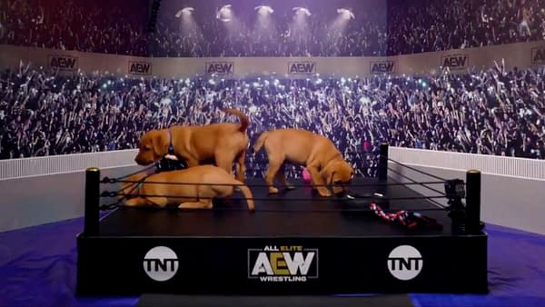 AEW will make history with the first-ever all-puppy Battle Royale