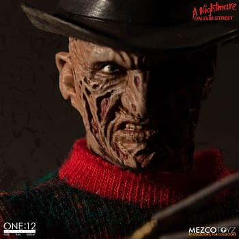 Freddy Krueger One:12 Collective Figure Up For Order Now