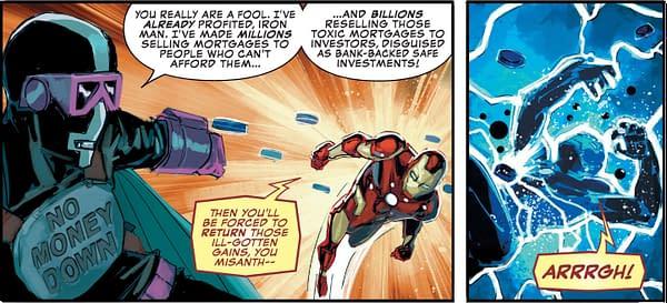 Iron Man's Wall Street Revenge Power Fantasy from Marvel Comics Presents #7