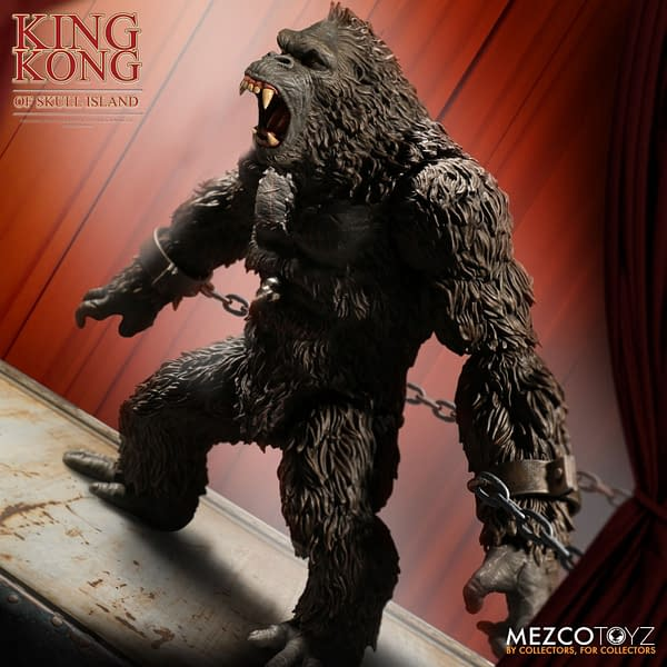 King Kong of Skull Island Returns with Mezco Toyz Reissue