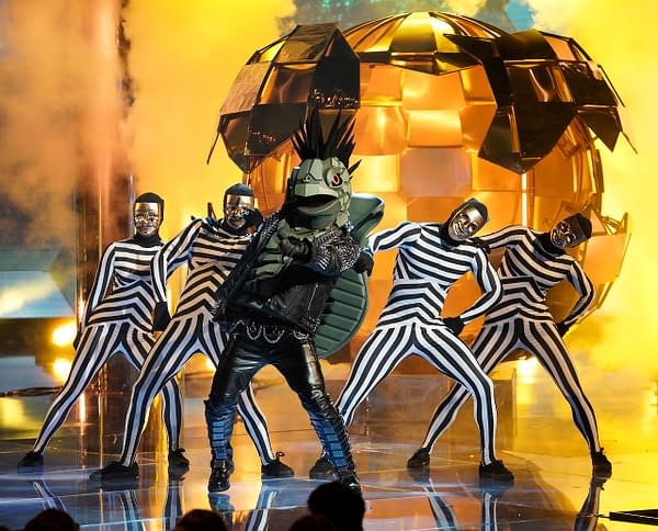 The Turtle on The Masked Singer, courtesy of FOX.