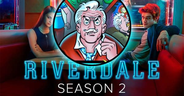 Hiram Lodge - Riverdale Season 2