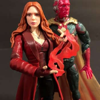 Lets Take a Look at the Marvel Legends MCU Vision and Scarlet Witch Two-Pack