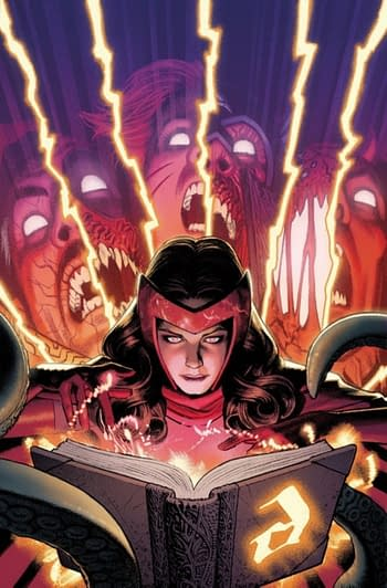 When Marvel Comics Were Publishing a Scarlet Witch Event, Darkhold,