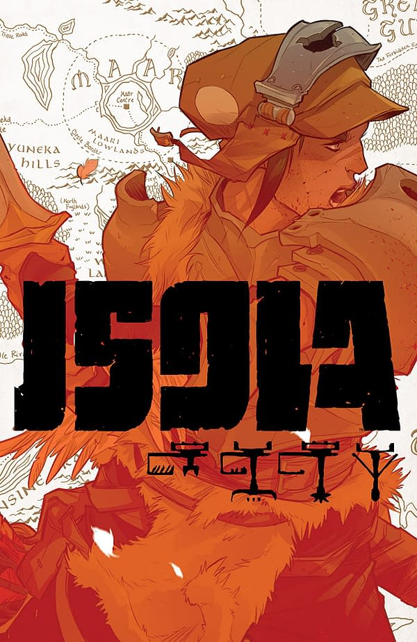 Isola #1 cover by Karl Kerschl