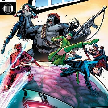 Titans Annual #2 Review: Mallah and Brain Forever