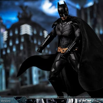 Batman Gets a New Dark Knight Trilogy Figure from Soap Studio