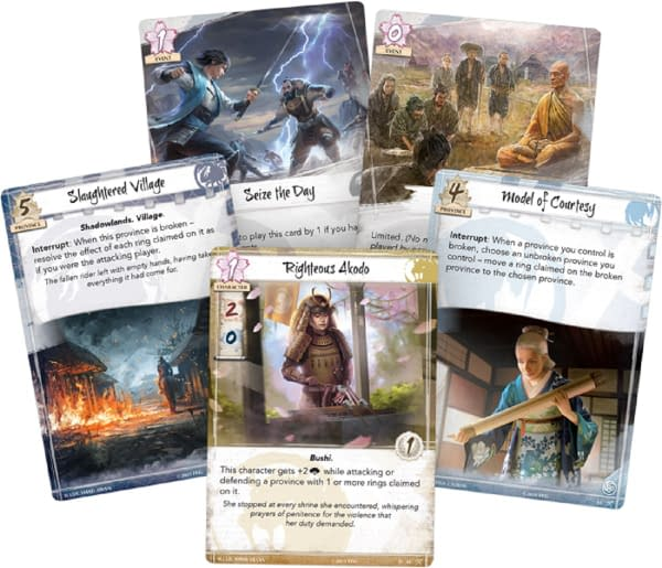 """Fantasy Flight Games Previews """"Clan War"""" - """"Legend of the Five Rings"""""""