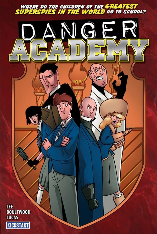 Danger Academy Cartoon In Development For US Television
