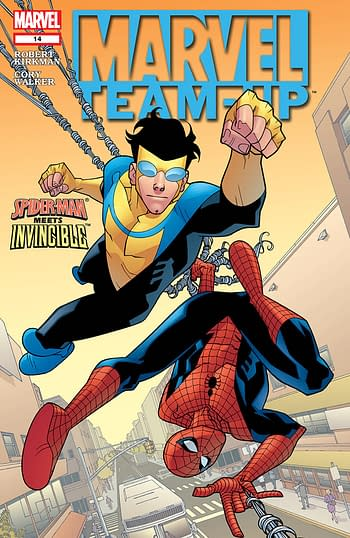 Marvel Team Up Volume 3 Issue 14 Cover
