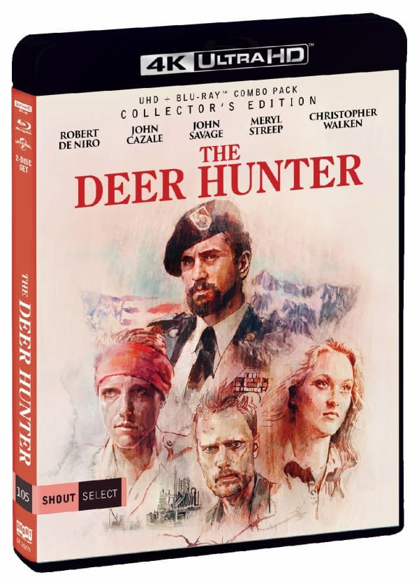 The Deer Hunter is releasing on 4K Blu-ray for the first time.