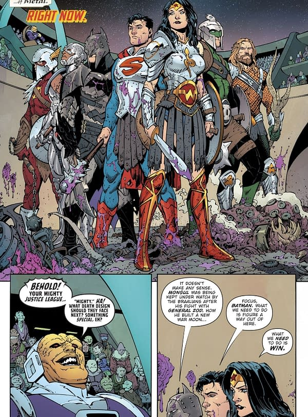 DC Comics to Publish a New WarWorld Comic?