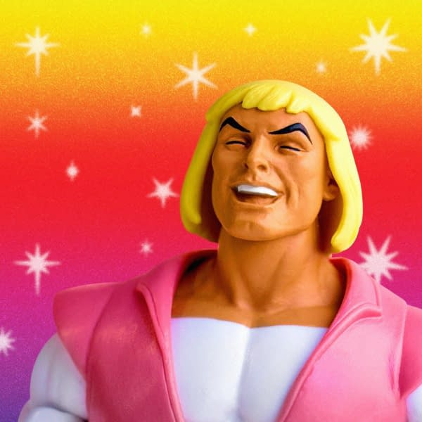 Super7 Masters of the Universe Laughing Prince Adam SDCC Exclusive 2
