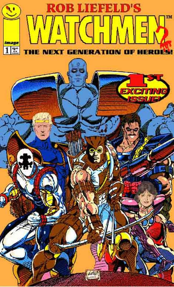 Rob Liefeld Says the Watchmen Movie is Better Than the Comic