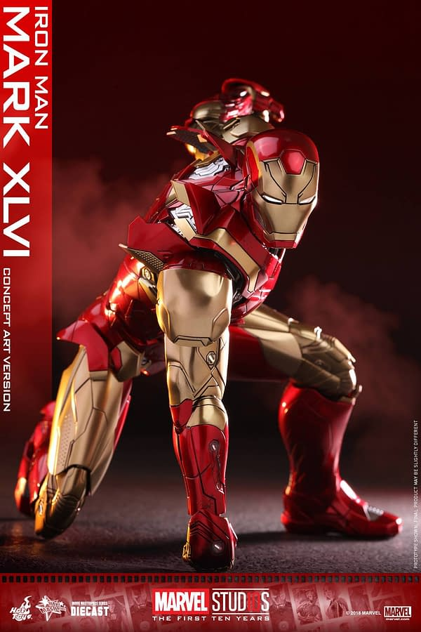 Hot Toys MCU 10th Anniversary Concept Iron Man 2