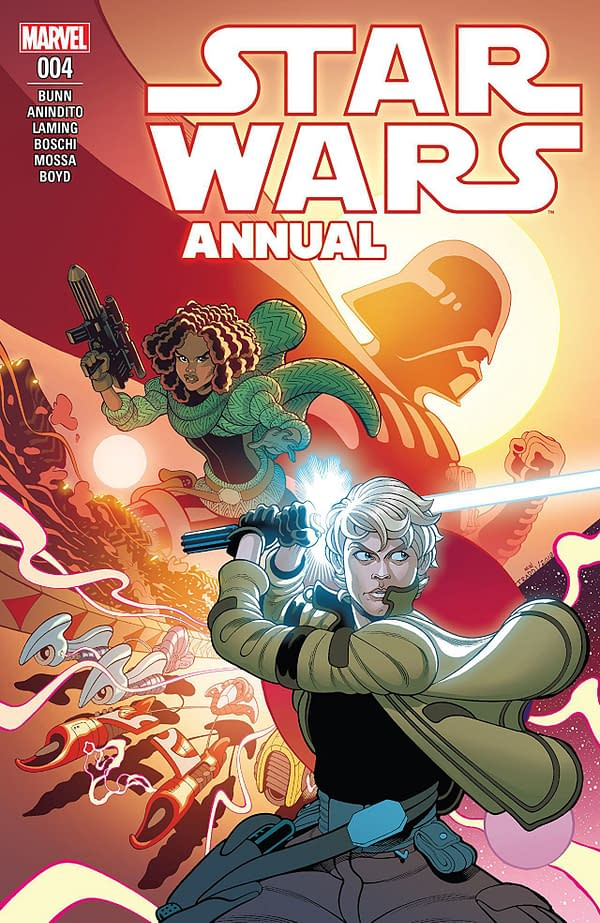 Star Wars Annual #4 cover by Tradd Moore