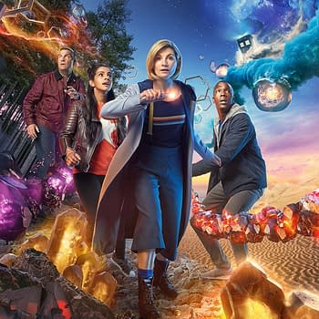 Doctor Who is now streaming on HBO Max, image courtesy of BBC America.