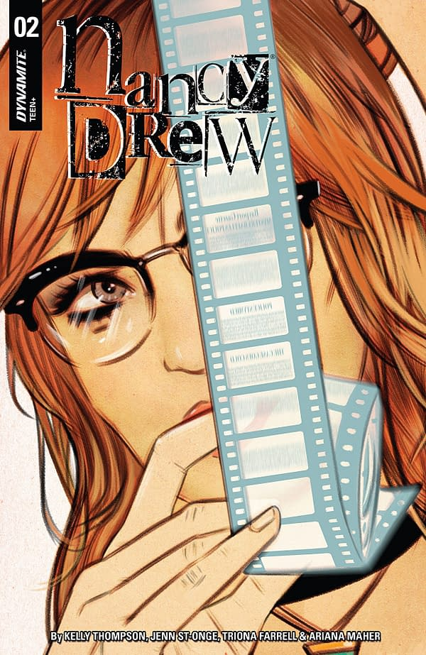 Nancy Drew #2 cover by Tula Lotay