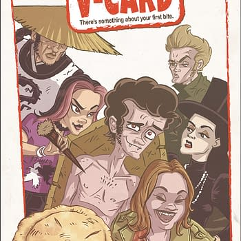 "What if American Pie Had More Vampires in It? ""The V-Card"" Comes to Comic Stores in Antarctic Press December 2019"