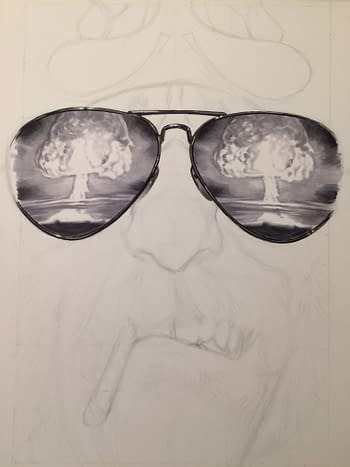 Scumbag #1 Cover Process Picture 2