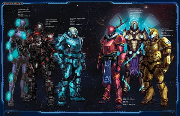 Surviving Space As Best We Can: We Review the Starfinder Armory Rulebook