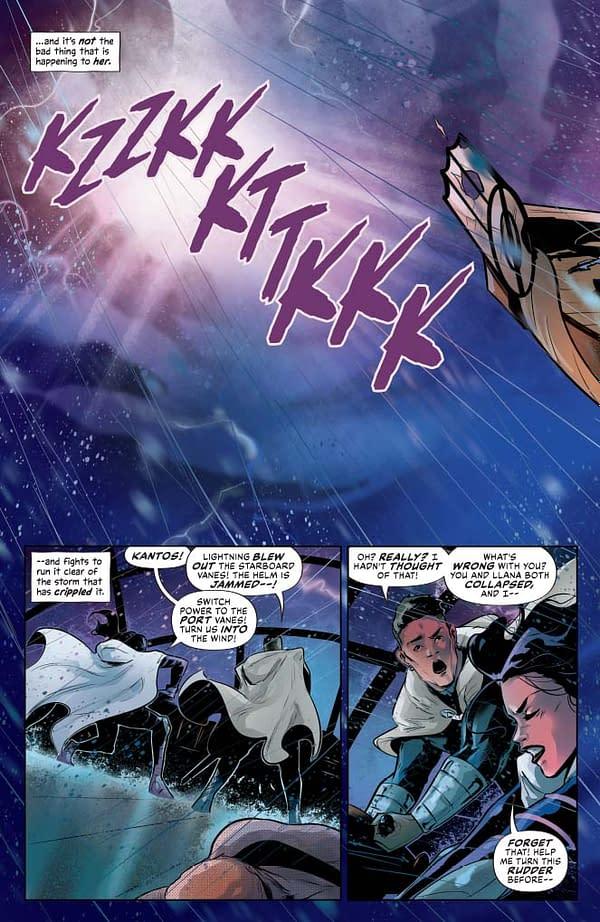 Dejah Thoris #4 gets a writer's commentary from Dan Abnett