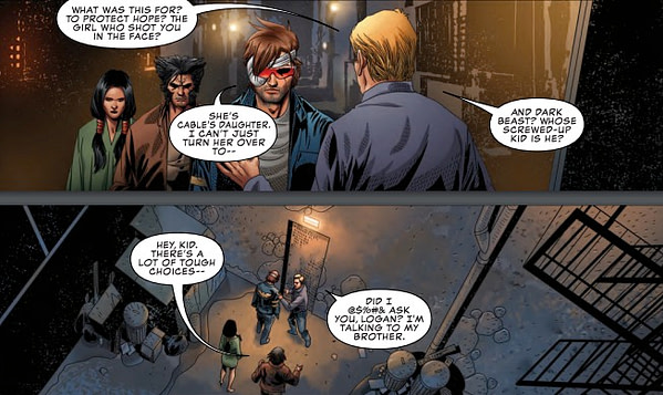 Why Wolverine is the Only One Cyclops Can Trust - Uncanny X-Men #16 Preview