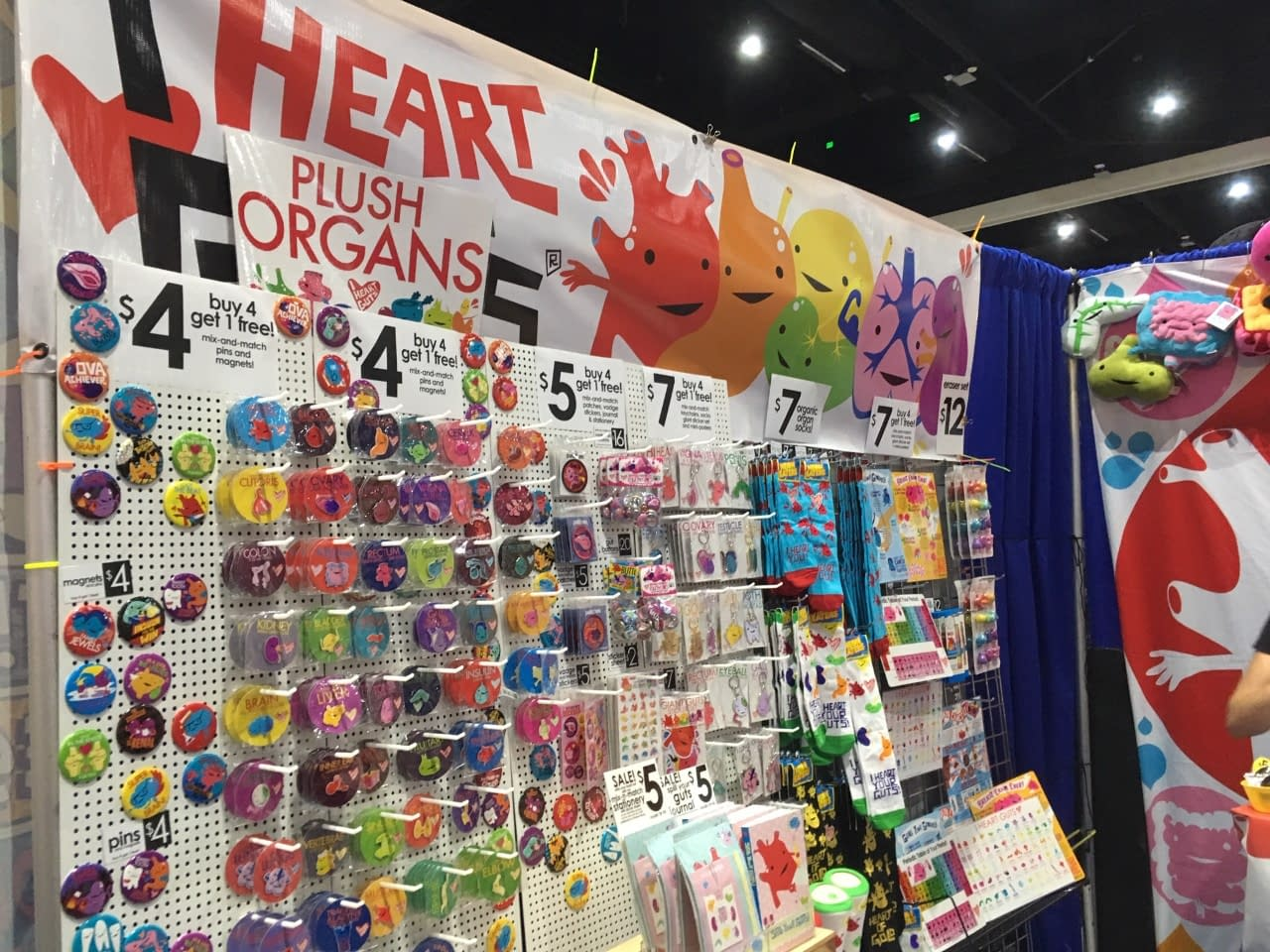 Comic-Con's Best Booth You Never Heard Of: I Heart Guts - Something For Every Body