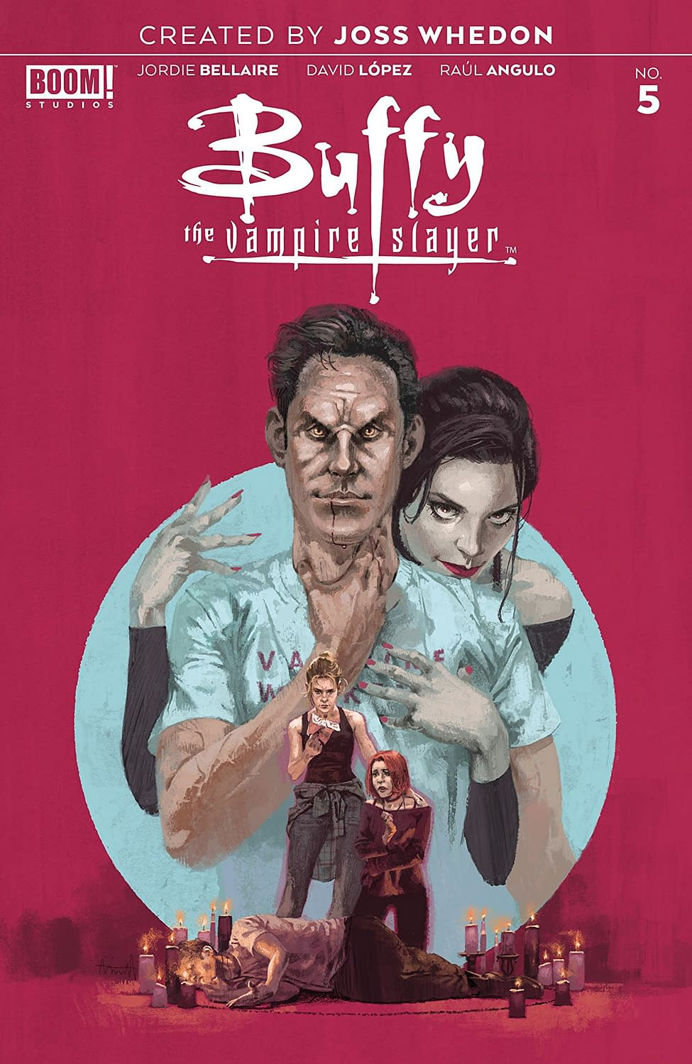 'Buffy the Vampire Slayer #5' Gets to the Point of Xander's Problems